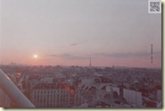 Sonnenuntergang vom Centre Pompidou