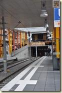 die neue Haltestelle in Zuffenhausen