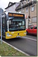 nach Stammheim nur mit dem Bus