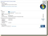 Windows 7 Professional mit SP1 - 64 Bit