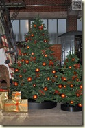 weihnachtliche Deko im Museum