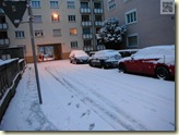 Schnee in Stuttgart