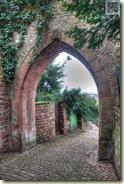 Tor in der Stadtmauer