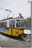 Nikolaus-Fahrt im Schnee