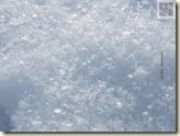 echter Schnee in diesem Winter