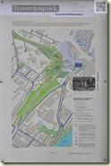 Infoschild zum Travertinpark