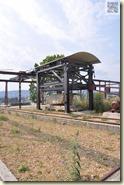 die alte Kranbahn im Park