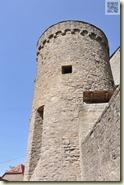 Turm an der Burgmauer
