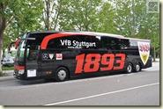 der neue Mannschaftsbus