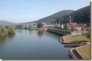 Blick von der Mainbrücke auf Freudenberg