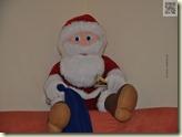 der Weihnachtsmann auf dem Sofa