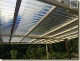 das neue Terrassendach