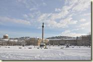 Schlossplatz mit Jubiläumssäule