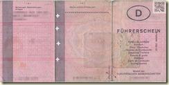der alte Führerschein