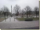 Schneefall in Stuttgart