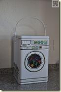 die Wäscheklammern-Waschmaschine