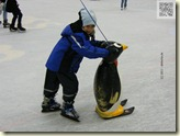 Lars auf dem Eis