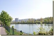 am Neckar entlang