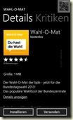 Wahl-o-Mat für die Bundestagswahl