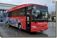 der Stadttour-Bus