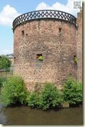 einer der erhaltenen Stadtmauer-Türme