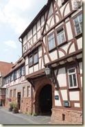 mittelalterliche Stadtkulisse