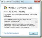 Über Windows LiveWriter