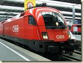 """Eurosprinter """"Taurus"""" der ÖBB als Baureihe 1116"""