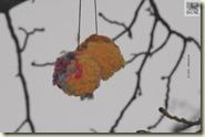 Woll-Puschel statt Blüten