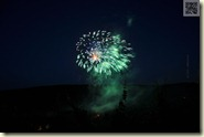 """das Feuerwerk """"Weinberge in Flammen"""""""