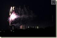 Feuerwerk des Wohnstift Augustinum