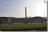 frühlingshafter Schlossplatz