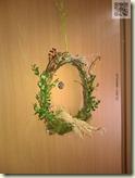 Frühlings-Dekoration an der Türe