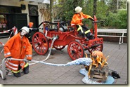 ein Knochenjob bei der Feuerwehr