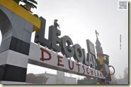 Nebel über dem Legoland