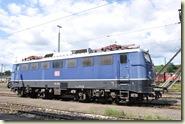 eine blaue 110er