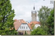 Blick auf die Stadtsilhouette von Bad Wimpfen