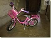 das neue Fahrrad von Lena