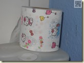 Toilettenpapier mit Hello Kitty