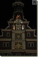 beleuchtetes Altes Rathaus