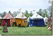 das Lager der Ritter