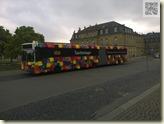 Bus als Taschenlager