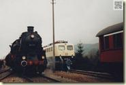 Dampflok anno 1987