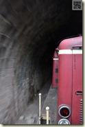 Fahrt ins Tunnel