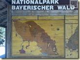 Hinweischild zum Nationalpark