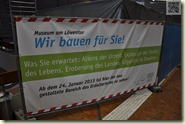Umbaumaßnahmen im Löwentor-Museum