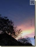 Sonnenuntergang in den tollsten Farben