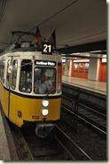 Museums-Linie am Bahnhof