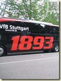 der neue VfB-Mannschaftsbus