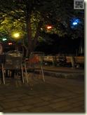 Abendstimmung im Biergarten